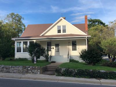 Wytheville Single Family Home Active Contingency: 500 Tazewell