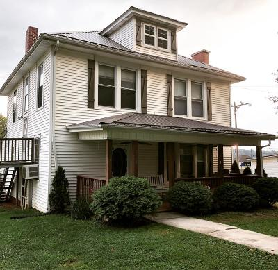 Chilhowie VA Single Family Home For Sale: $126,500