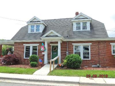 Wytheville Single Family Home For Sale: 195 N. 10th Street