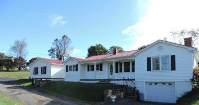 Abingdon VA Single Family Home For Sale: $162,500