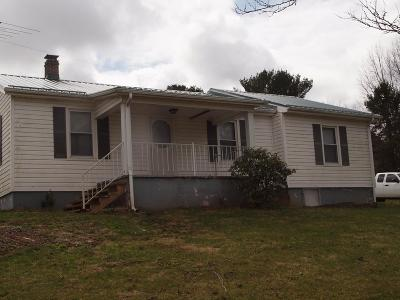 Chilhowie VA Single Family Home For Sale: $129,500