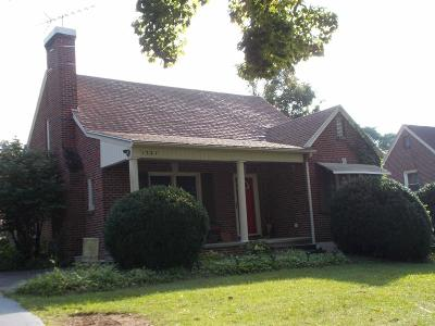 Hillsville VA Single Family Home Active Contingency: $170,000