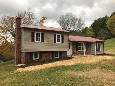 Galax VA Single Family Home Active Contingency: $139,900