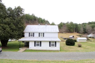 Galax Single Family Home For Sale: 4183 Fries Road