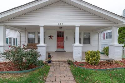 Abingdon Single Family Home Active Contingency: 317 Oak Hill