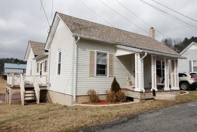 Fries VA Single Family Home For Sale: $125,000