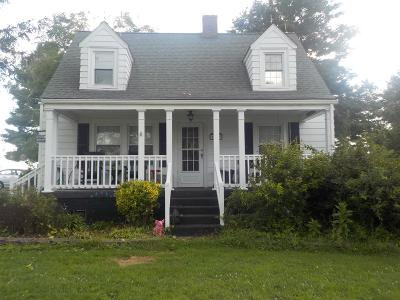 Hillsville VA Single Family Home For Sale: $160,000