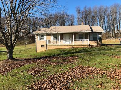 Chilhowie VA Single Family Home For Sale: $119,900