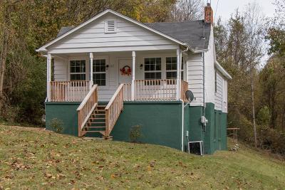 Bristol VA Single Family Home For Sale: $67,900