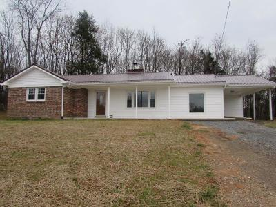 Max Meadows Single Family Home For Sale: 152 Brown Town Rd