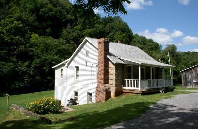 Wythe County Single Family Home For Sale: 5601 Grayson Turnpike