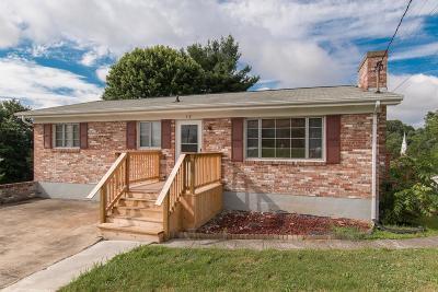 Bristol VA Single Family Home Active Contingency: $92,900
