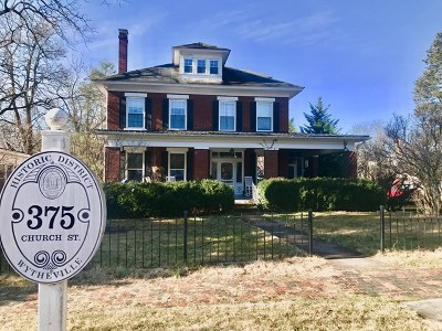 Wytheville Single Family Home For Sale: 375 Church Street