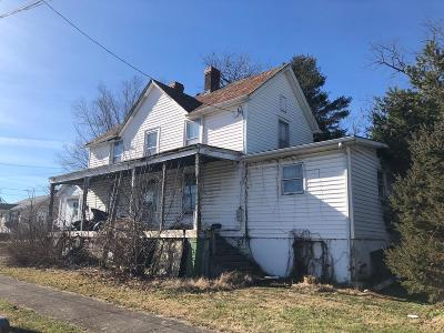 Wytheville Single Family Home For Sale: 350 Calhoun St