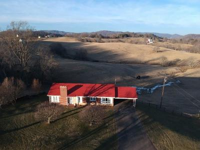 Grayson County Single Family Home For Sale: 1760 Pine Mountain Rd