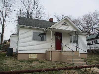 Bristol VA Single Family Home For Sale: $35,500