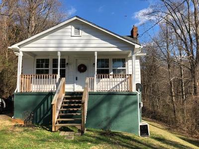 Bristol VA Single Family Home Active Contingency: $67,900