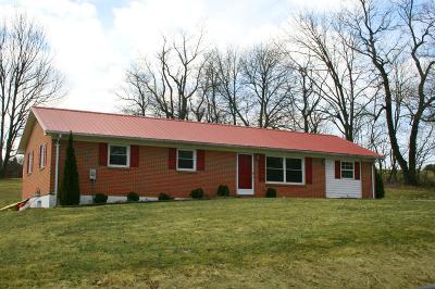 Wytheville Single Family Home For Sale: 1295 Fisher Rd