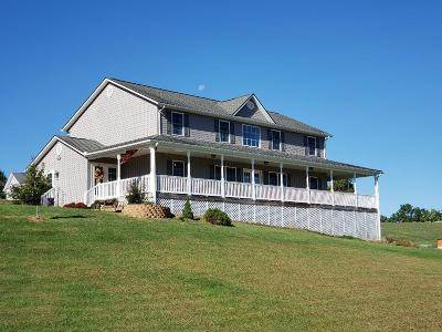 Galax Single Family Home For Sale: 5115 Glendale Rd.