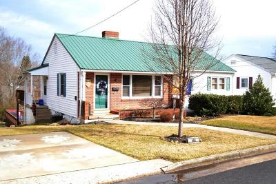 Wytheville Single Family Home For Sale: 560 N 6th Street