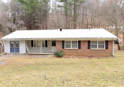 Hillsville Single Family Home For Sale: 1851 Water Plant Rd