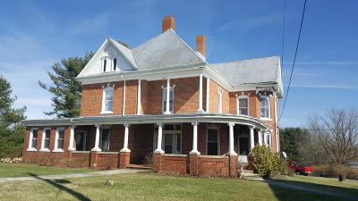 Wythe County Single Family Home For Sale: 202 Main