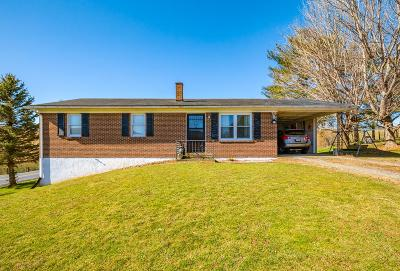 Bland Single Family Home For Sale: 21 Meadowview Rd.