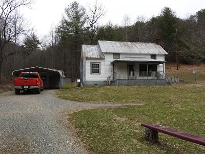 Galax Single Family Home For Sale: 371 Loams Rd.