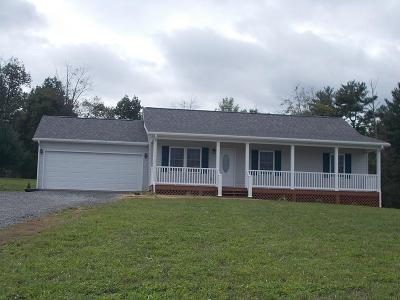 Galax Single Family Home For Sale: 521 Riverhill Rd