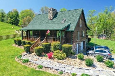 Wythe County Single Family Home For Sale: 571 Old Mountain Road