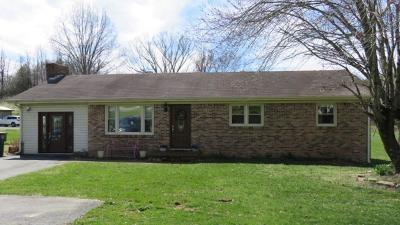Abingdon VA Single Family Home For Sale: $129,000