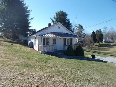 Wytheville Single Family Home For Sale: 3445 Lee Hwy