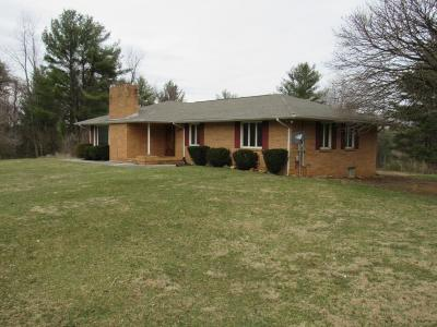 Hillsville Single Family Home Active Contingency: 378 Valley View Drive