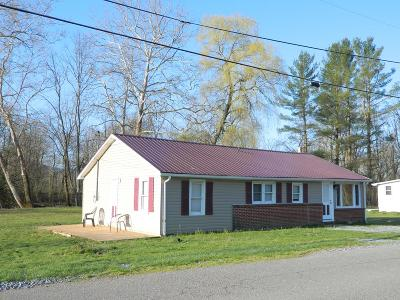 Chilhowie VA Single Family Home For Sale: $89,000