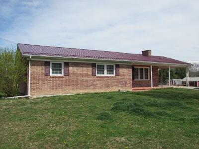 Wytheville Single Family Home For Sale: 708 Sheffey School Rd
