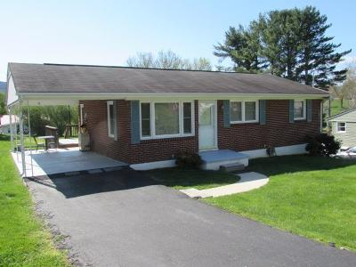 Wythe County Single Family Home For Sale: 1465 Monroe St