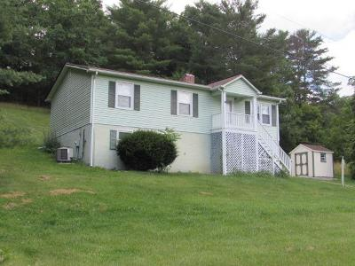 Max Meadows Single Family Home For Sale: 755 Locust Hill Rd