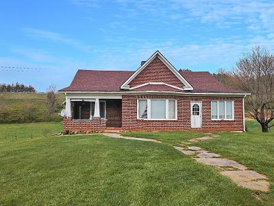 Rural Retreat Single Family Home For Sale: 8434 Lee Highway