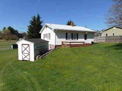 Hillsville VA Single Family Home For Sale: $104,900
