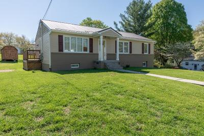 Bristol VA Single Family Home Active Contingency: $135,000