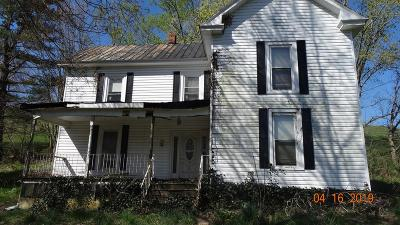 Marion Single Family Home Active Contingency: 478 Spring Branch Road