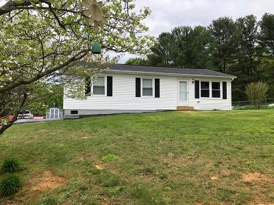 Bristol VA Single Family Home For Sale: $99,000