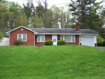 Galax VA Single Family Home Active Contingency: $119,900