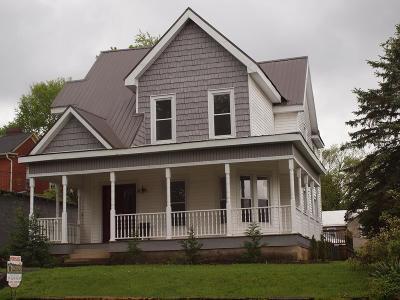 Bristol VA Single Family Home Active Contingency: $199,000