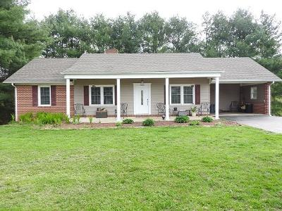 Galax Single Family Home Active Contingency: 103 Greenwood Dr