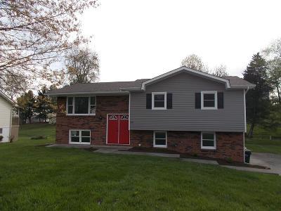 Bristol VA Single Family Home Active Contingency: $168,900