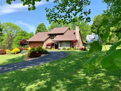 Bristol VA Single Family Home Active Contingency: $298,850