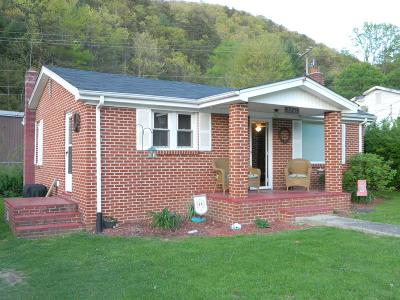 Chilhowie VA Single Family Home For Sale: $46,000