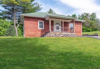 Saltville Single Family Home For Sale: 105 Government Plant Road