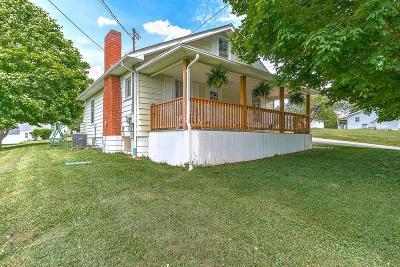 Bristol VA Single Family Home Active Contingency: $74,900